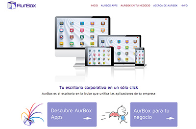 aurbox home website